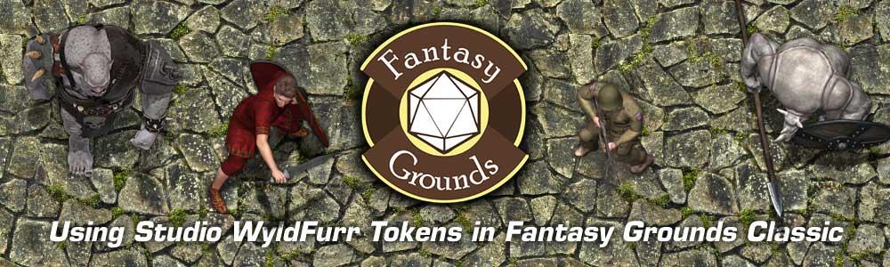 Using Studio WyldFurr Tokens in Fantasy Grounds