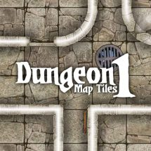 Dungeon Map Tiles 1