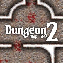Dungeon Map Tiles 2