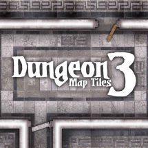 Dungeon Map Tiles 3