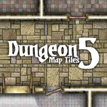 Dungeon Map Tiles 5