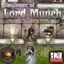 The Tower of Lord Munch (Fantasy Grounds Edition)