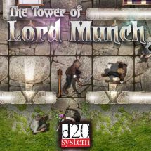The Tower of Lord Munch (Generic Virtual Tabletop Edition)
