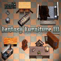 Fantasy Furniture Tokens III - Sample 03