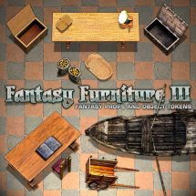 Fantasy Furniture Tokens III - Sample 04