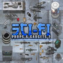 Sci-fi Props & Objects II Token Pack
