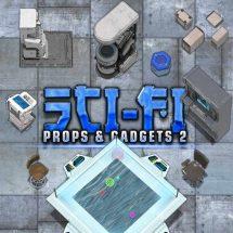 Sci-fi Props & Objects II Token Pack