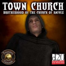 Town Church of the Church of Knives (Fantasy Grounds Edition)