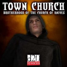 Town Church of the Church of Knives (Generic VTT Edition)