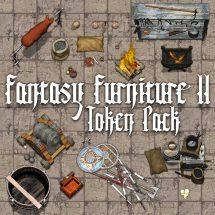 Fantasy Furniture Tokens II