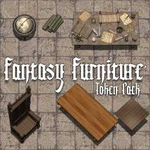 Fantasy Furniture Token Pack