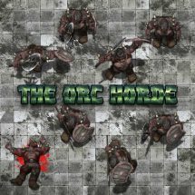 The Orc Horde Token Pack