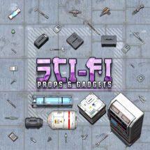Sci-fi Props & Gadgets Token Pack