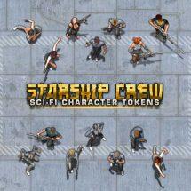 Starship Crew Token Pack