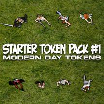 Starter Token Pack #1: Modern Day Tokens