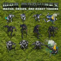 War Machines – Mecha, Droids, & Robots