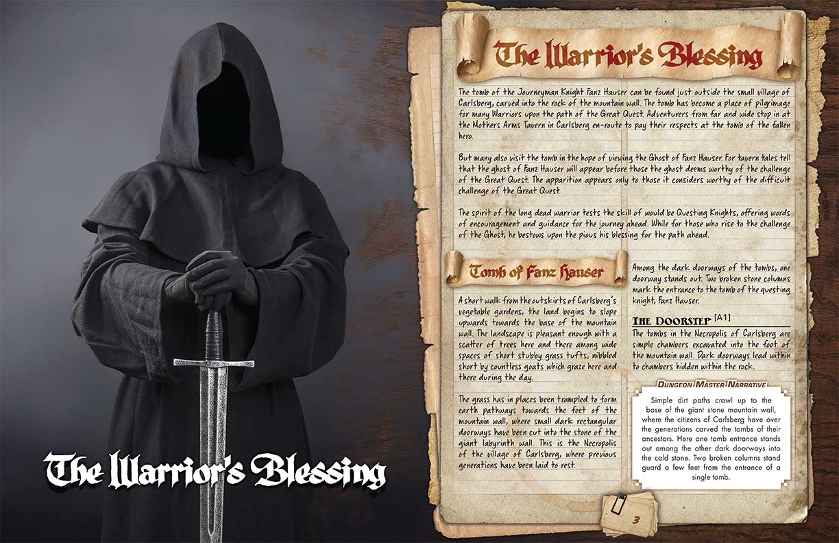 Extract: The Warriors Blessing
