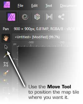 Affinity Photo: The Move Tool