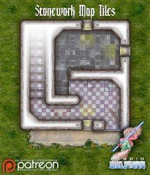Stonework Map Tiles - Sample 0001