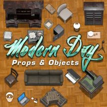 Modern Day Props & Object Tokens