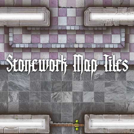 Stonework Map Tiles