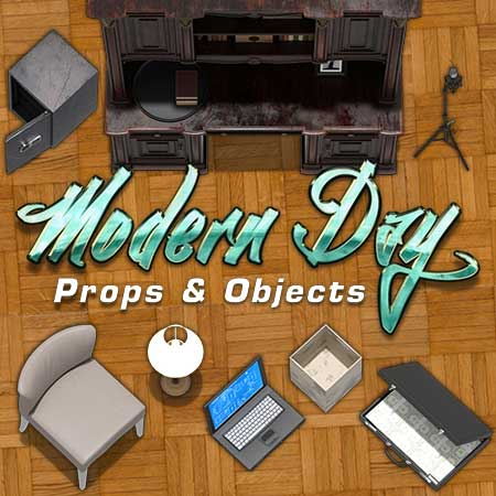 Modern Day Props & Objects