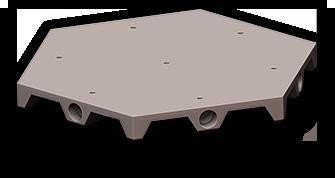 Mini-Terrain System: Basic Hex