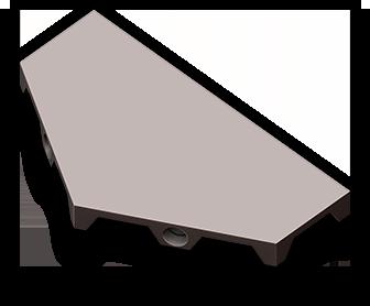 Mini-Terrain System: Half Hex