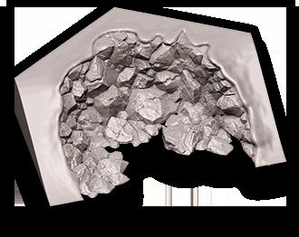 Mini-Terrain System: Rubble/Cliff