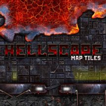 Hellscape Map Tiles