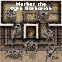Ogre Thugs: Markor the Ogre Barbarian