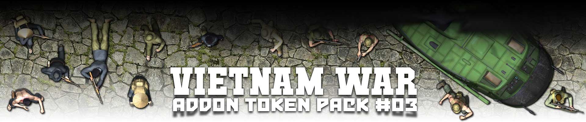 Addon Token Package #3: Vietnam War