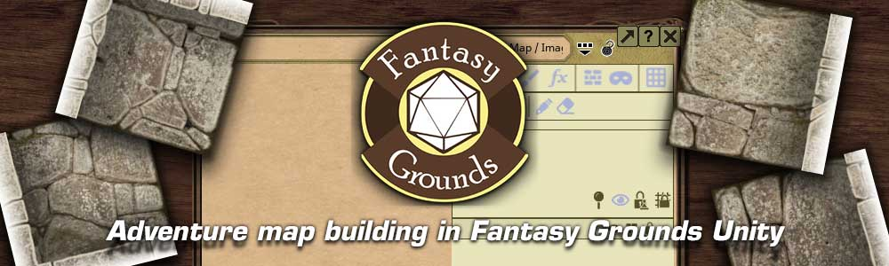 Adventure map building in Fantasy Grounds unity